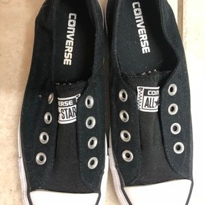 Black Converse Slip All Star